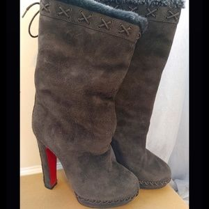 CHRISTIAN LOUBOUTAIN BOOTS